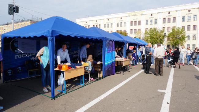 ВятГУ принял участие в фестивале #ВместеЯрче