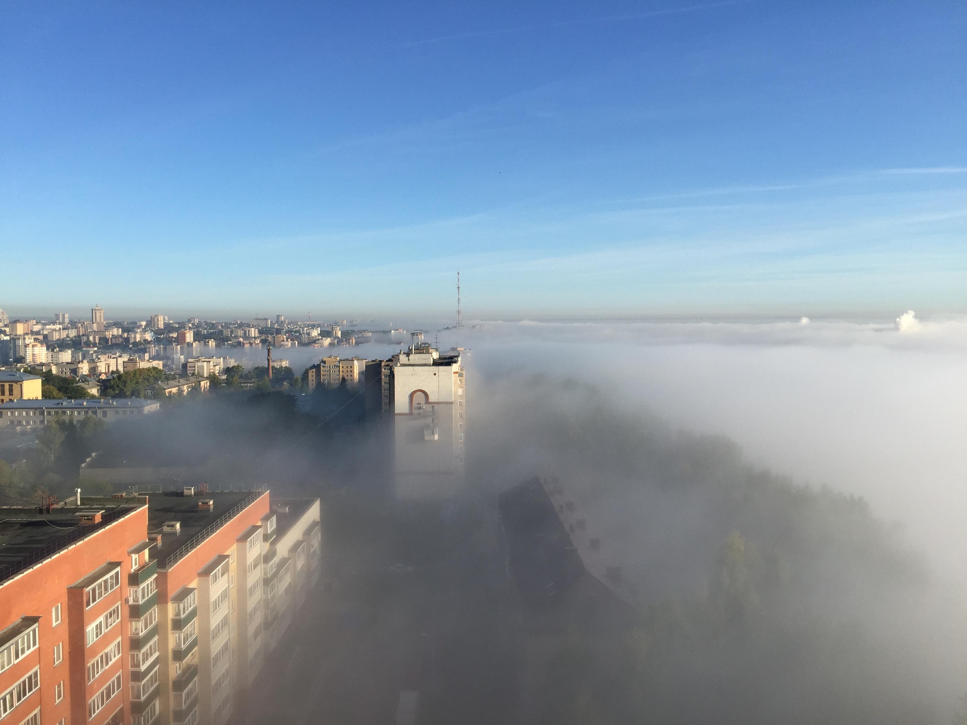 Рабочая неделя в Кирове будет прохладной и дождливой