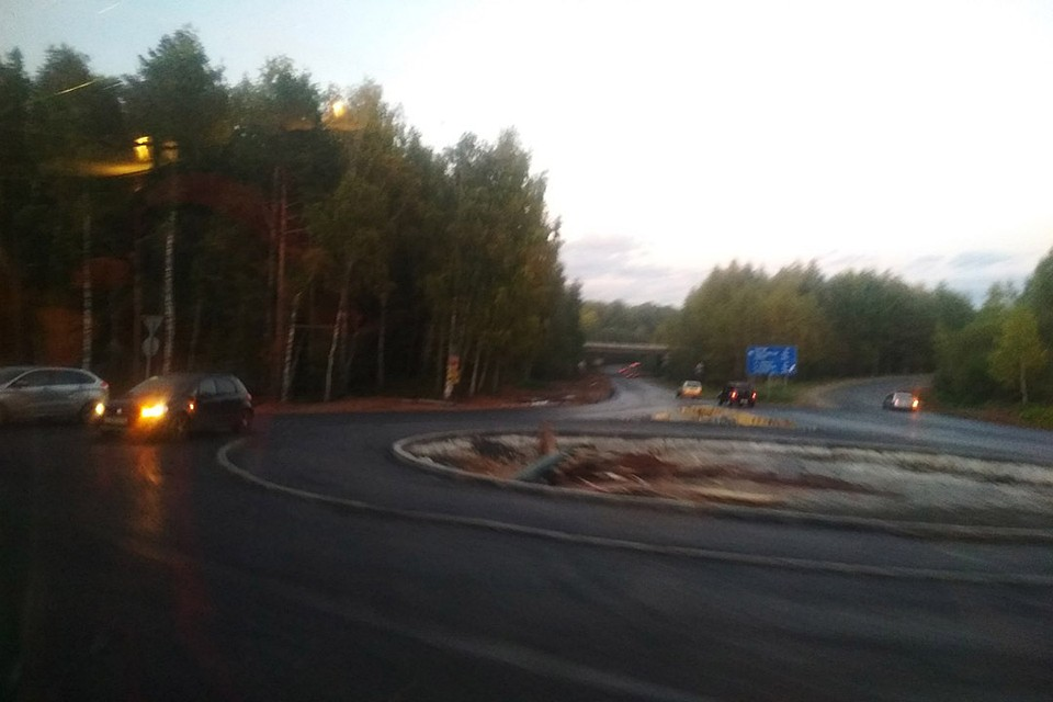 На Советском тракте открыто движение по кольцу на пересечении Южного обхода