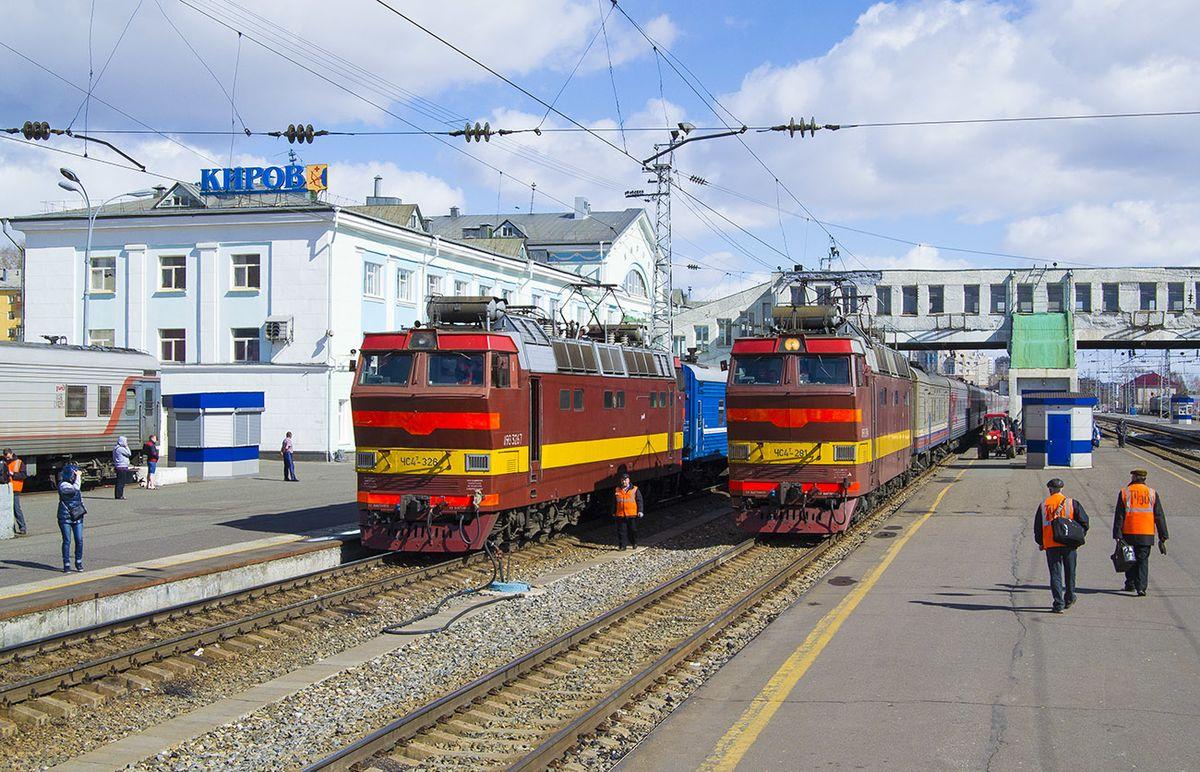 Появился новый поезд из Кирова в Санкт-Петербург