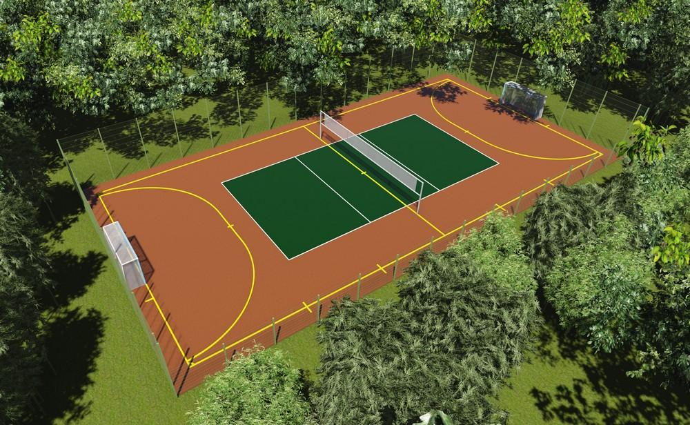 В парке «Аполло» строят мини-стадион