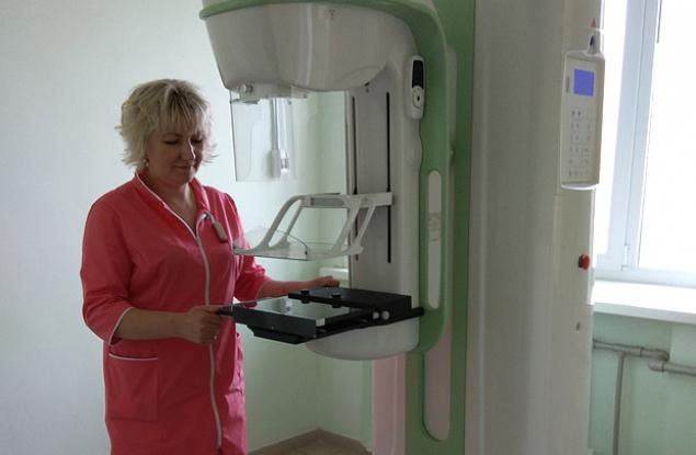 Новый цифровой маммограф стоимостью 8 млн рублей установили в Нолинской ЦРБ