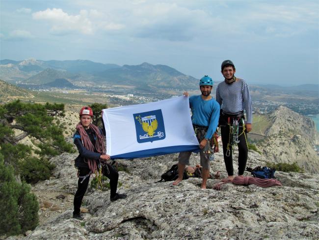 Студенты ВятГУ приняли участие в учебно-тренировочных сборах по скалолазанию в Крыму