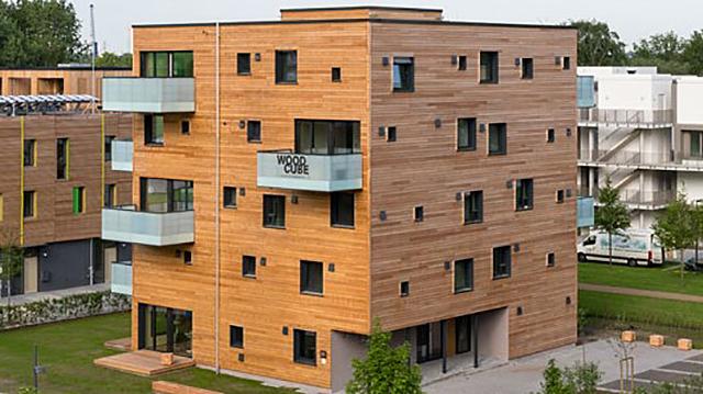 В Кировской области могут появиться многоэтажные дома из дерева