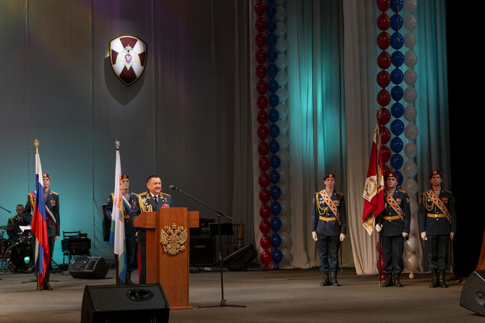 В Кирове отметили вековой юбилей воинской части Росгвардии