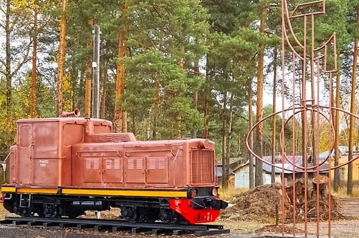 В Каринторфе появится памятник-тепловоз