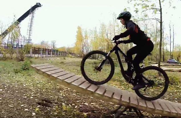 В первой кировской велошколе открылся скилл-парк