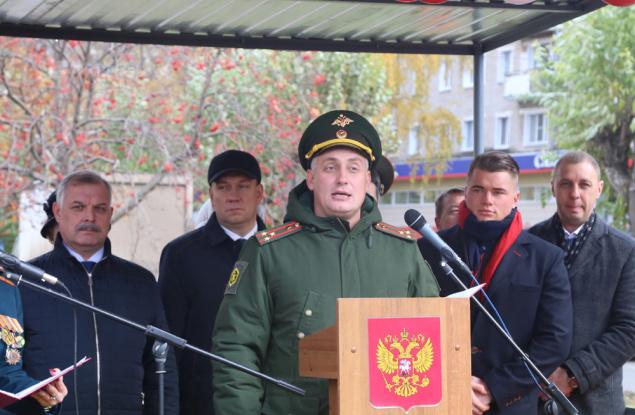 В Кирове заложили аллею памяти химических войск
