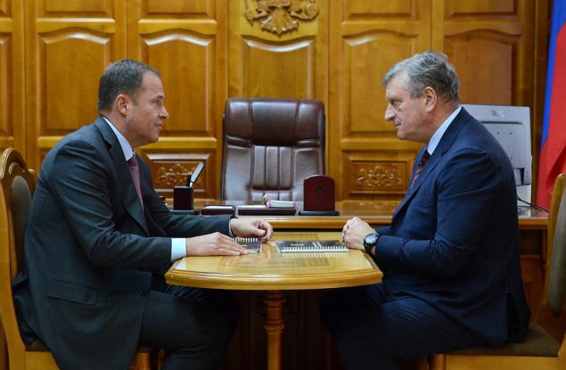 Игорь Комаров и Игорь Васильев провели рабочую встречу