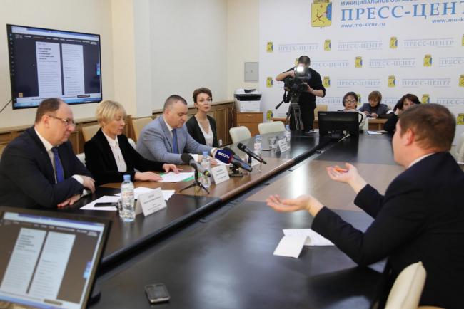 Ректор ВятГУ Валентин Пугач принял участие в пресс-конференции, посвященной первому урбанистическому форуму КИРОВ URBAN ФОРУМ