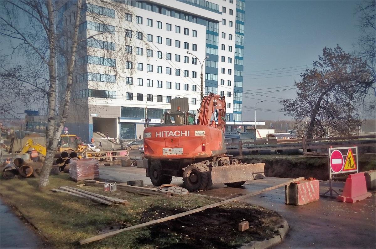 Реконструкция теплотрассы на ул. Профсоюзной идет в графике