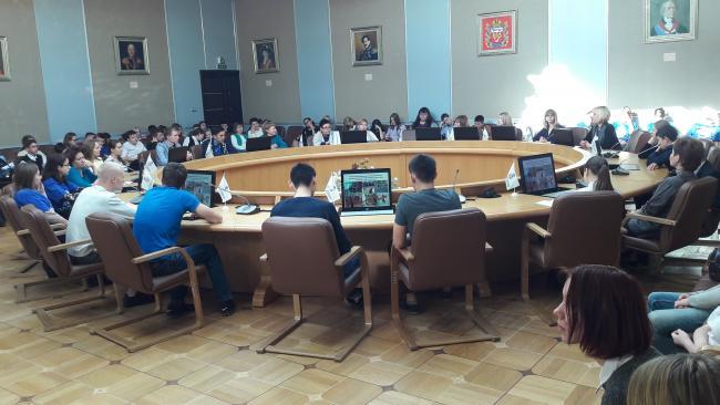 Сотрудники РУМЦ ВятГУ провели профориентационное мероприятие «Профессиональный выбор: древо возможностей»