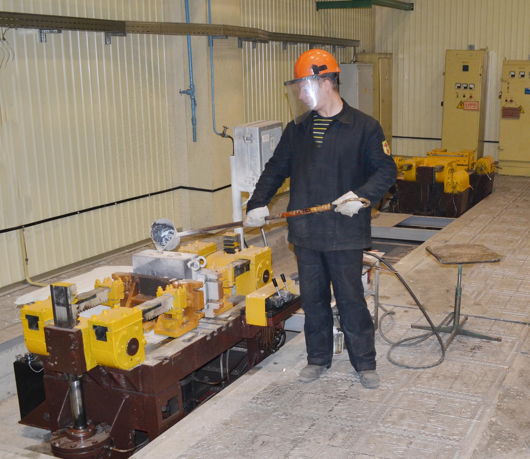 Модернизация участка литейного центра «АВИТЕКа»