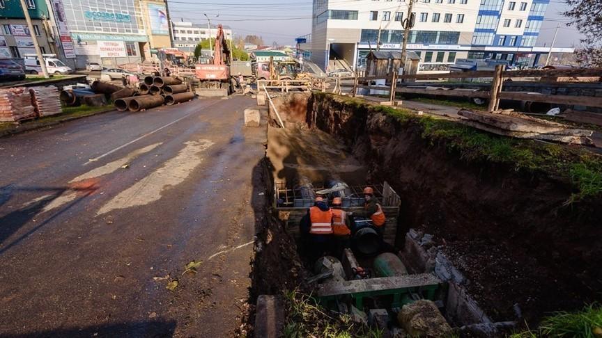 КТК завершили реконструкцию теплотрассы на ул. Профсоюзной