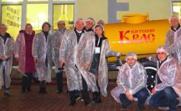 Столичные «акулы пера» посетили завод «Вятич»