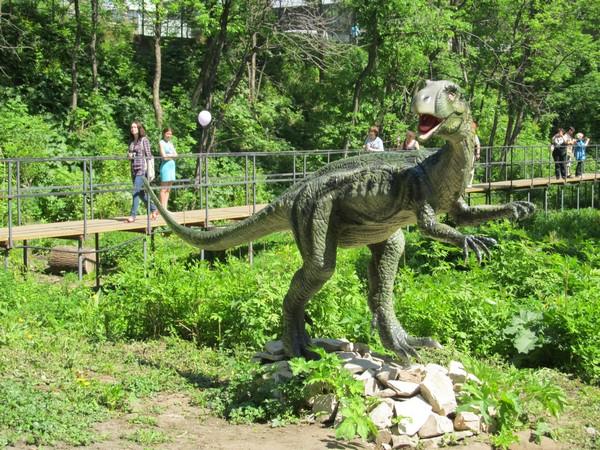 «Лучший маршрут выходного дня» ведет к динозаврам