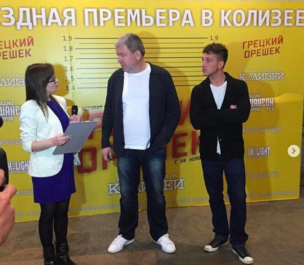 Александр Робак и Кирилл Каганович представили в Кирове свой новый фильм