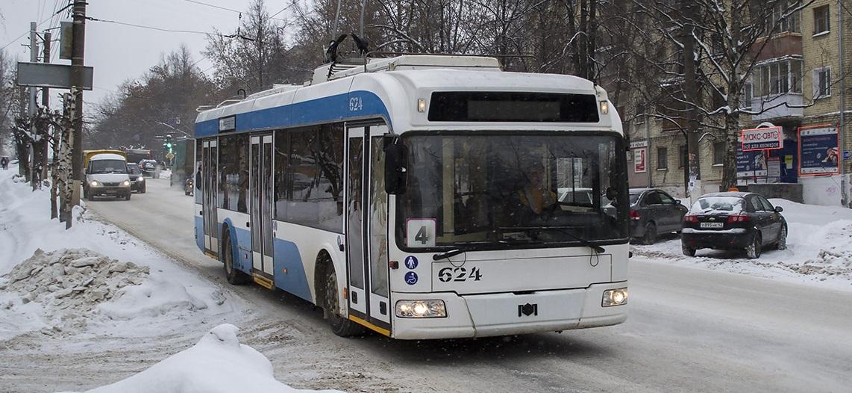 Троллейбусы переходят на зимнее расписание