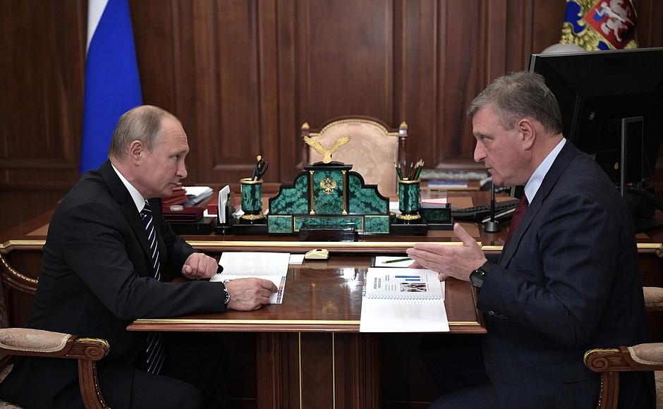 Владимир Путин заинтересовался нововведением в здравоохранении Кировской области