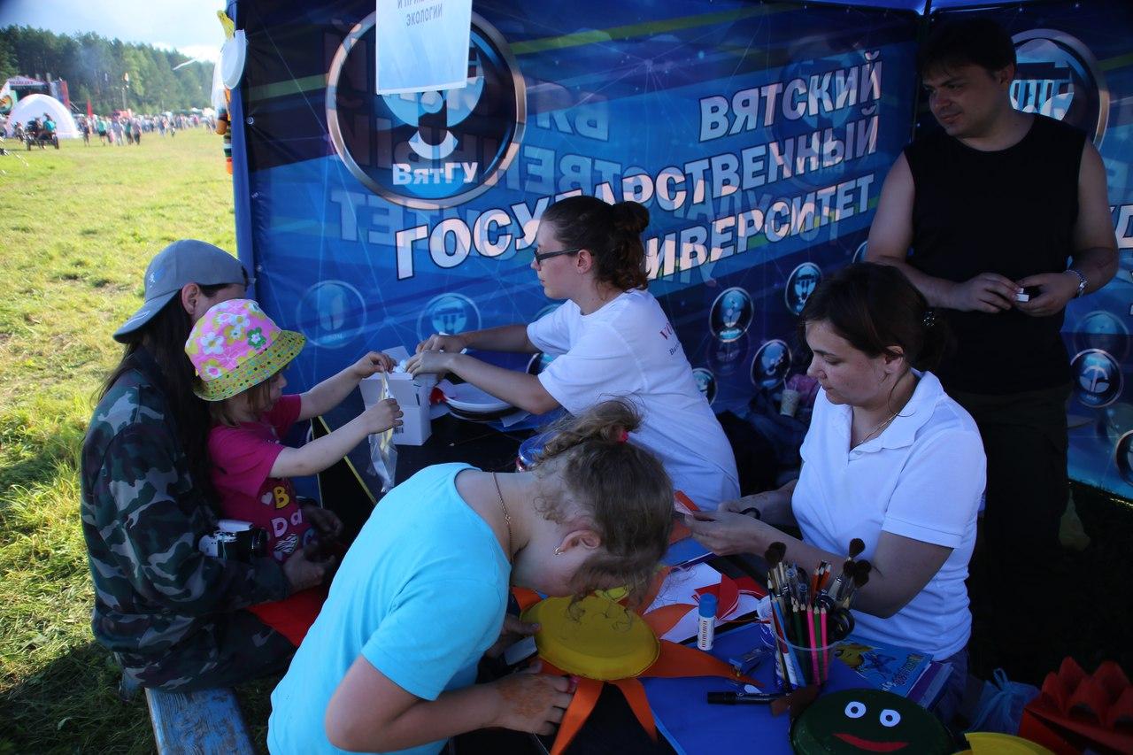 Кировские студенты стали участниками проекта «Страна Гринландия»
