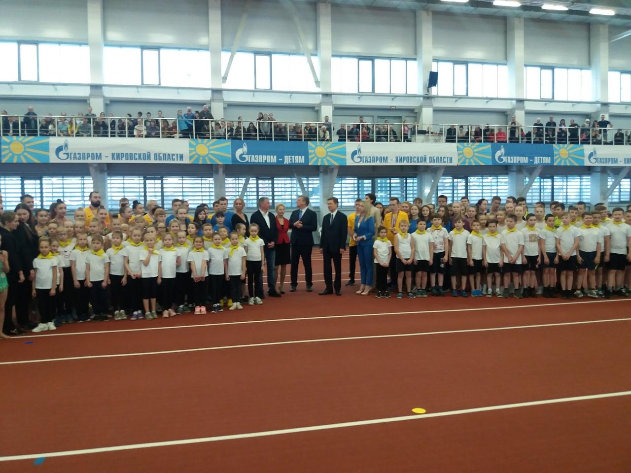В Кирове открыли уникальный для страны спортивный манеж