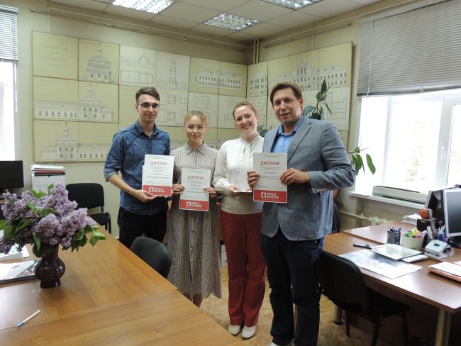 Архитектурный студенческий центр ВятГУ – на пьедестале победителей профессионального конкурса