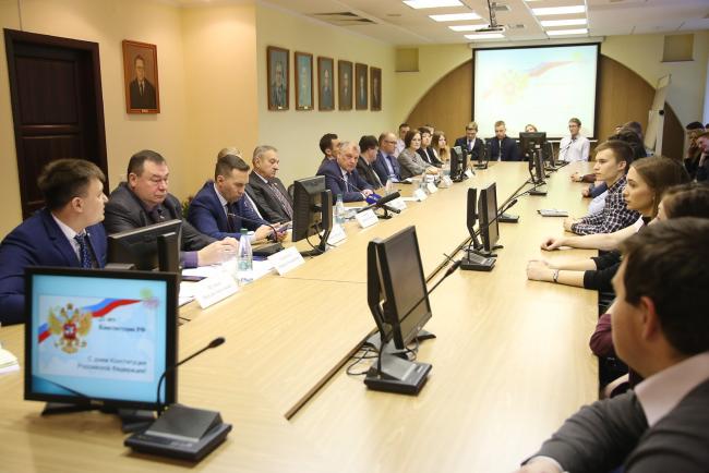 Законодатели Кировской области побывали в гостях у студентов ВятГУ