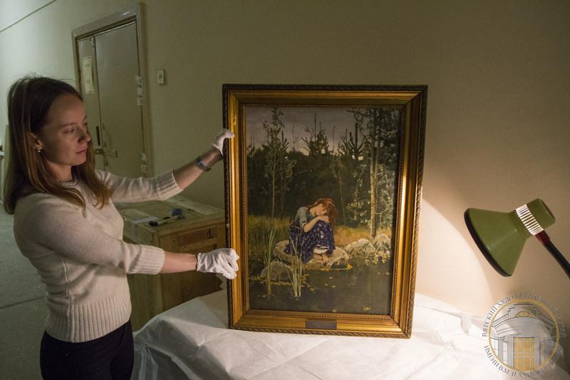 «Аленушка» приехала в Вятский художественный музей