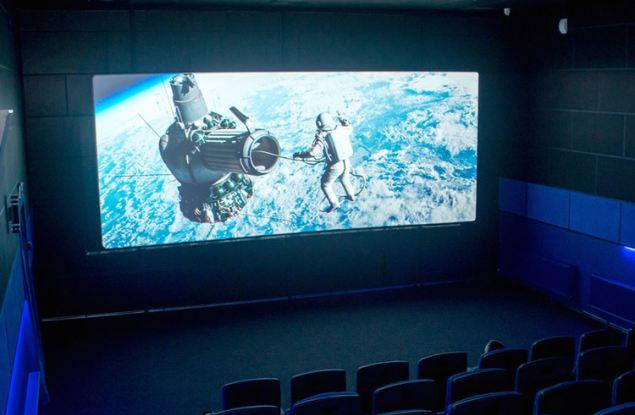 Сегодня в Кирсе открыли новый кинозал
