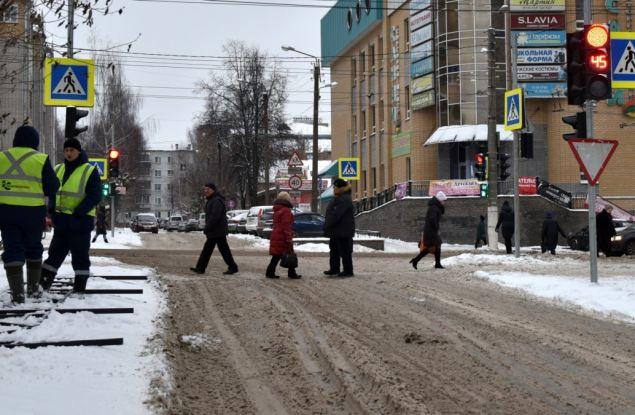 Улицу Ленина в Кирове теперь можно перейти по диагонали