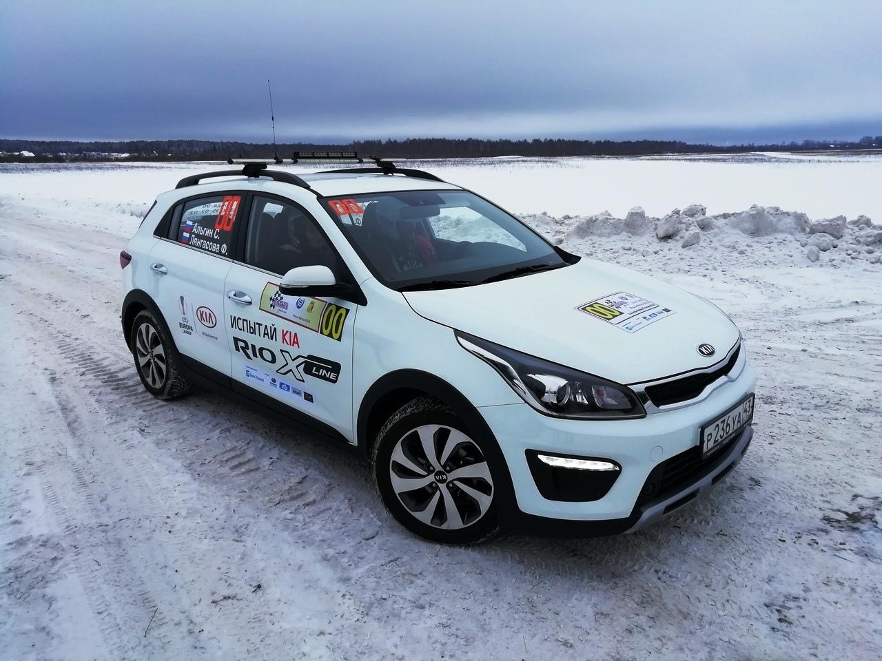 Автомобили КИА-Центра Гусар открыли 1 этап кубка России по ралли