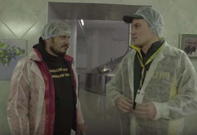 «Паша Техник» о пиве и заводе «Вятич», или Очень откровенное видео