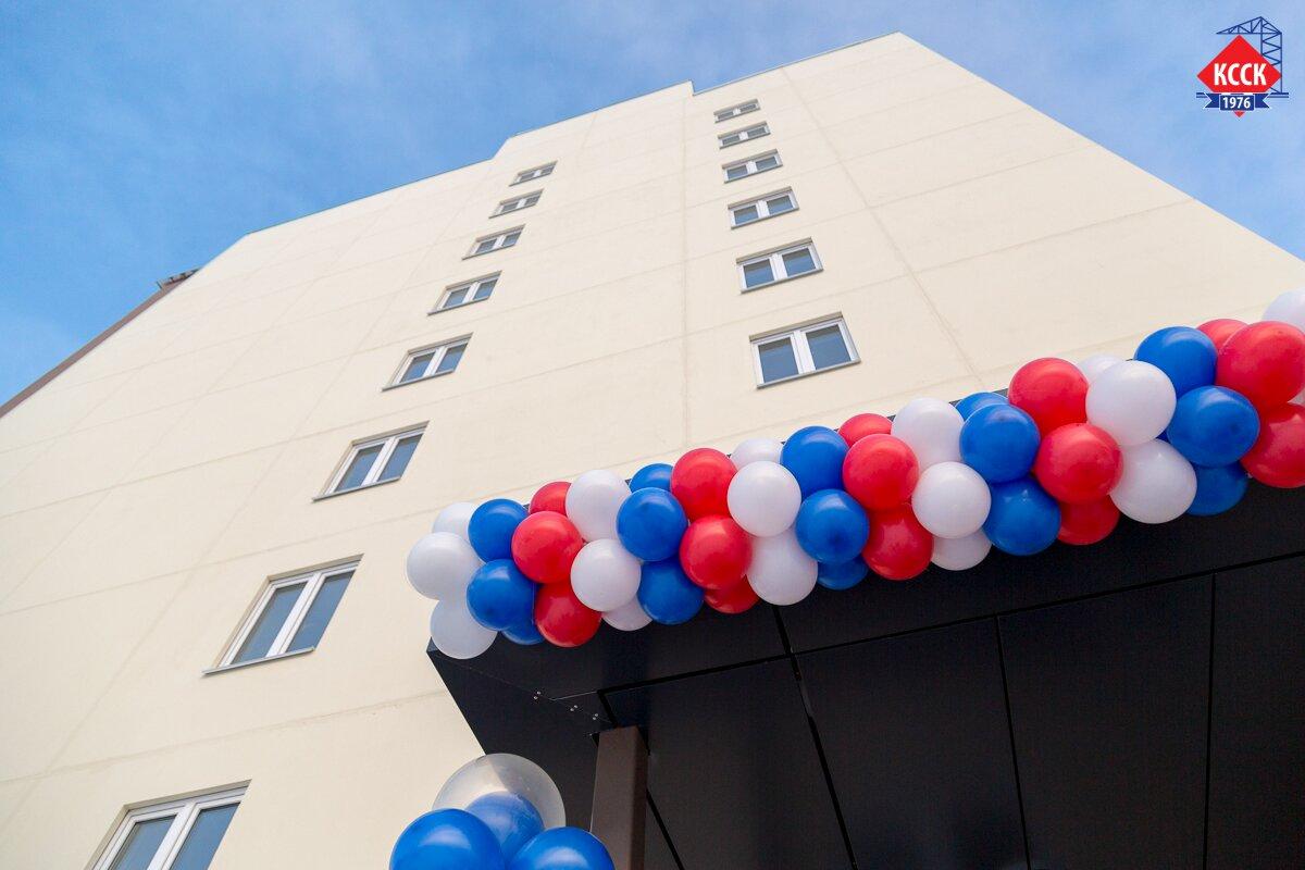 Кировский ССК торжественно открыл дом для детей-сирот.