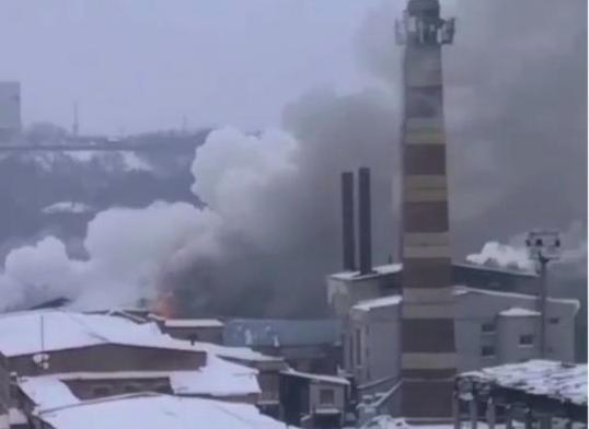 Причиной пожара на спичфабрике могло стать короткое замыкание