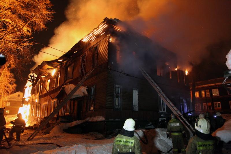 2019-ый начался с пяти пожаров со смертельным исходом