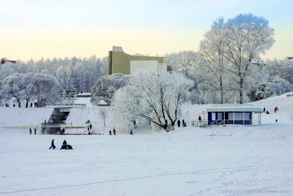 Снег в Кирове продолжится и в выходные