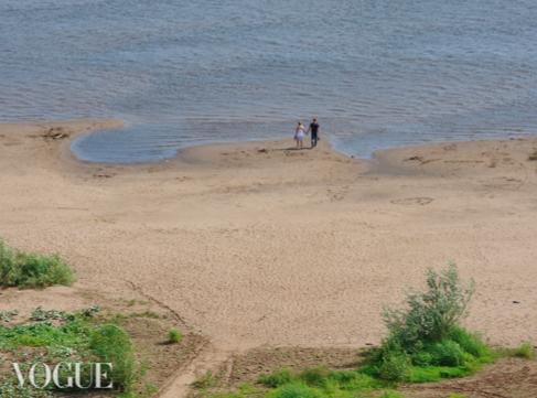 Фото с берега Вятки попало на итальянский модный сайт