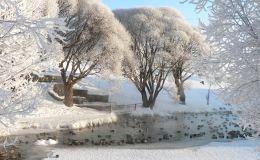 Погода в Кирове. Зима напоминает, что февраль – ее месяц