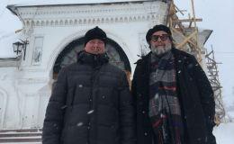 Борис Гребенщиков посетил храм в Макарье