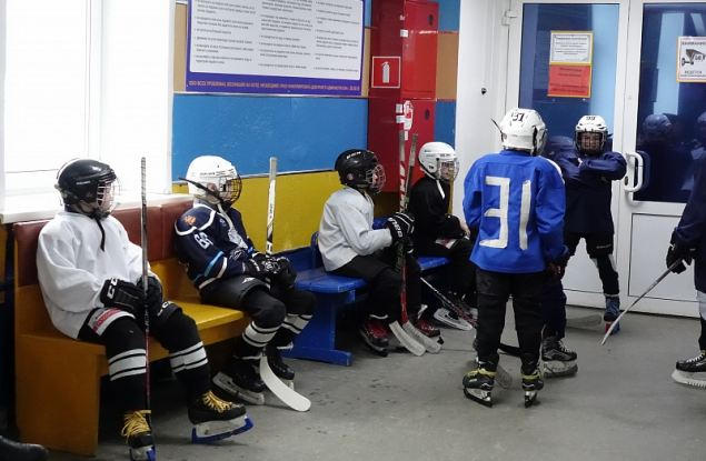 На льду спортшколы «Союз» прежде всего должны заниматься дети
