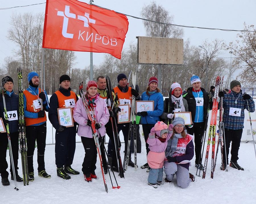 Спортсмены Кировского филиала «Т Плюс» приняли участие в лыжной гонке «Спорт во благо»