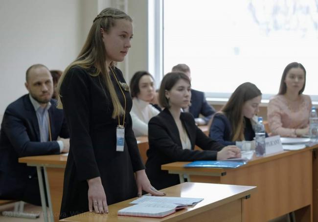 Будущие юристы выходят на международный уровень