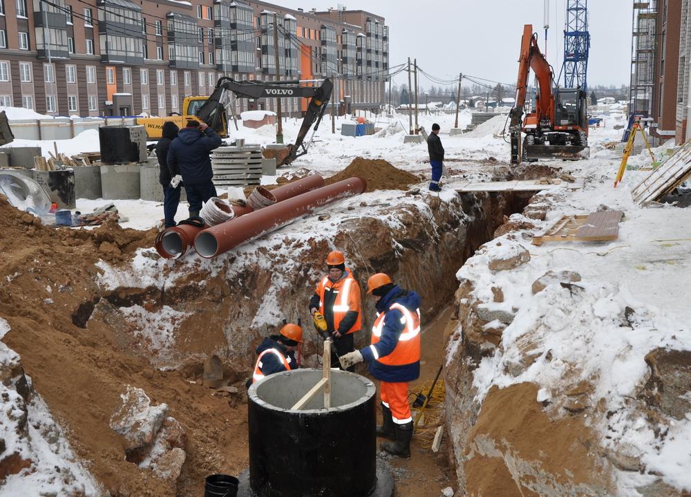 «РКС-Киров» строит ливневую канализацию