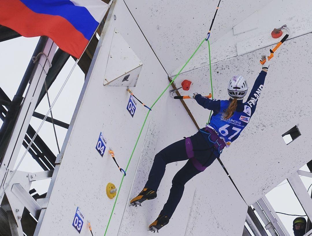 В Кирове завершается чемпионат мира по ледолазанию