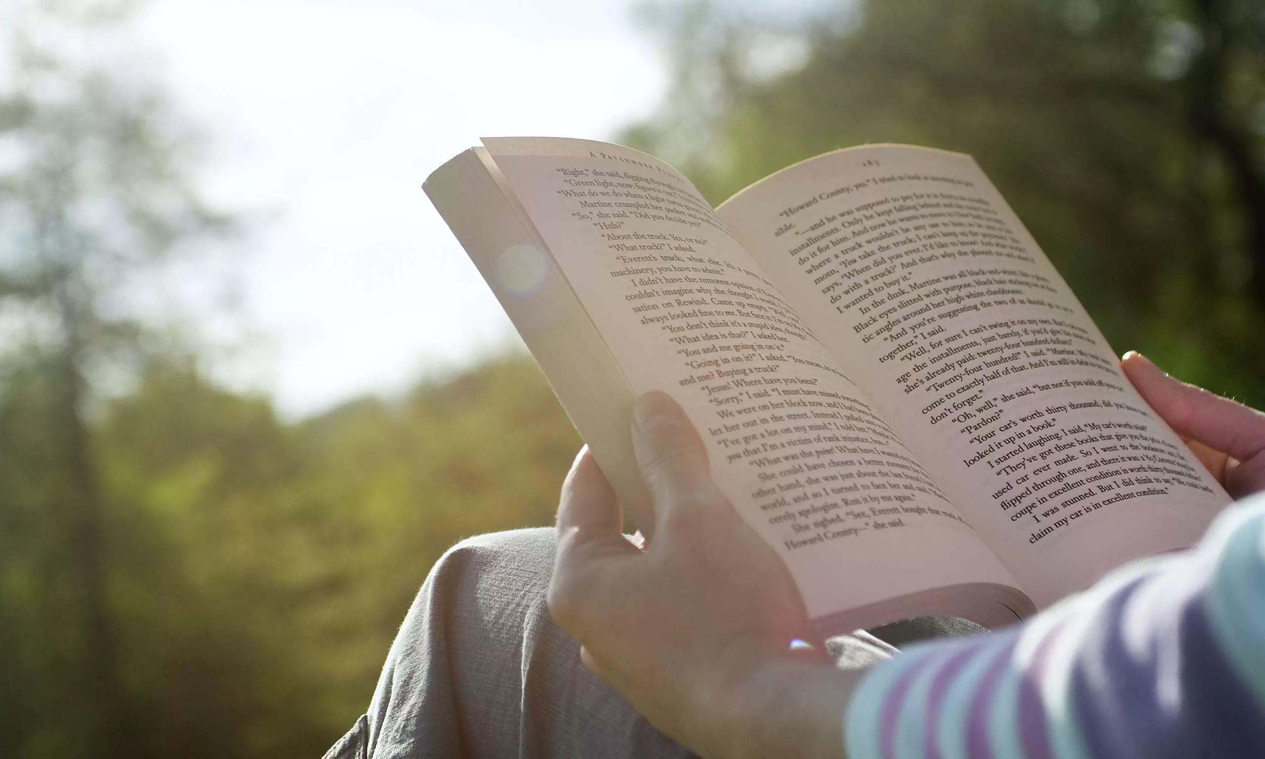Давайте почитаем. Топ-5 книг для встречи весны
