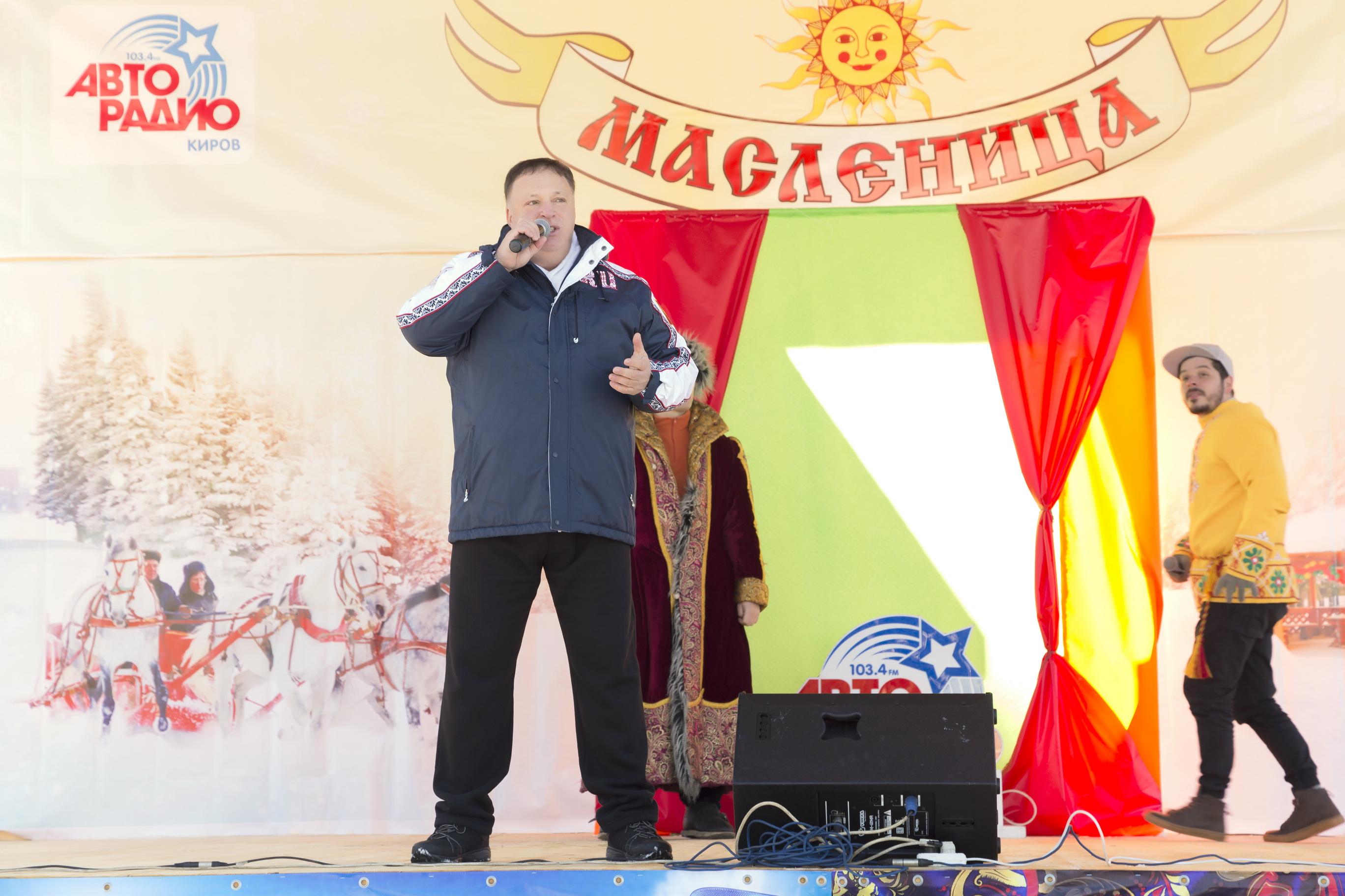 Олег Валенчук поздравил земляков с Масленицей