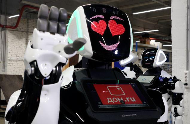 «ЭР-Телеком Холдинг» экспериментирует с роботами