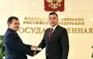 Федор Лугинин стал помощником депутата Госдумы