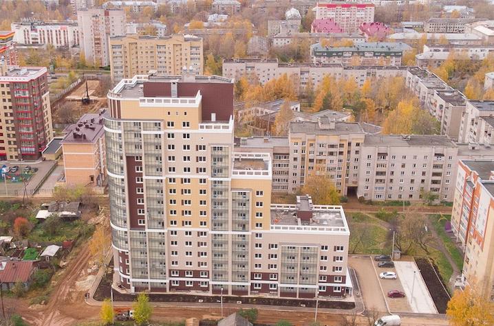 Дом сдан! Квартиры в центре Кирова с панорамным остеклением в подарок