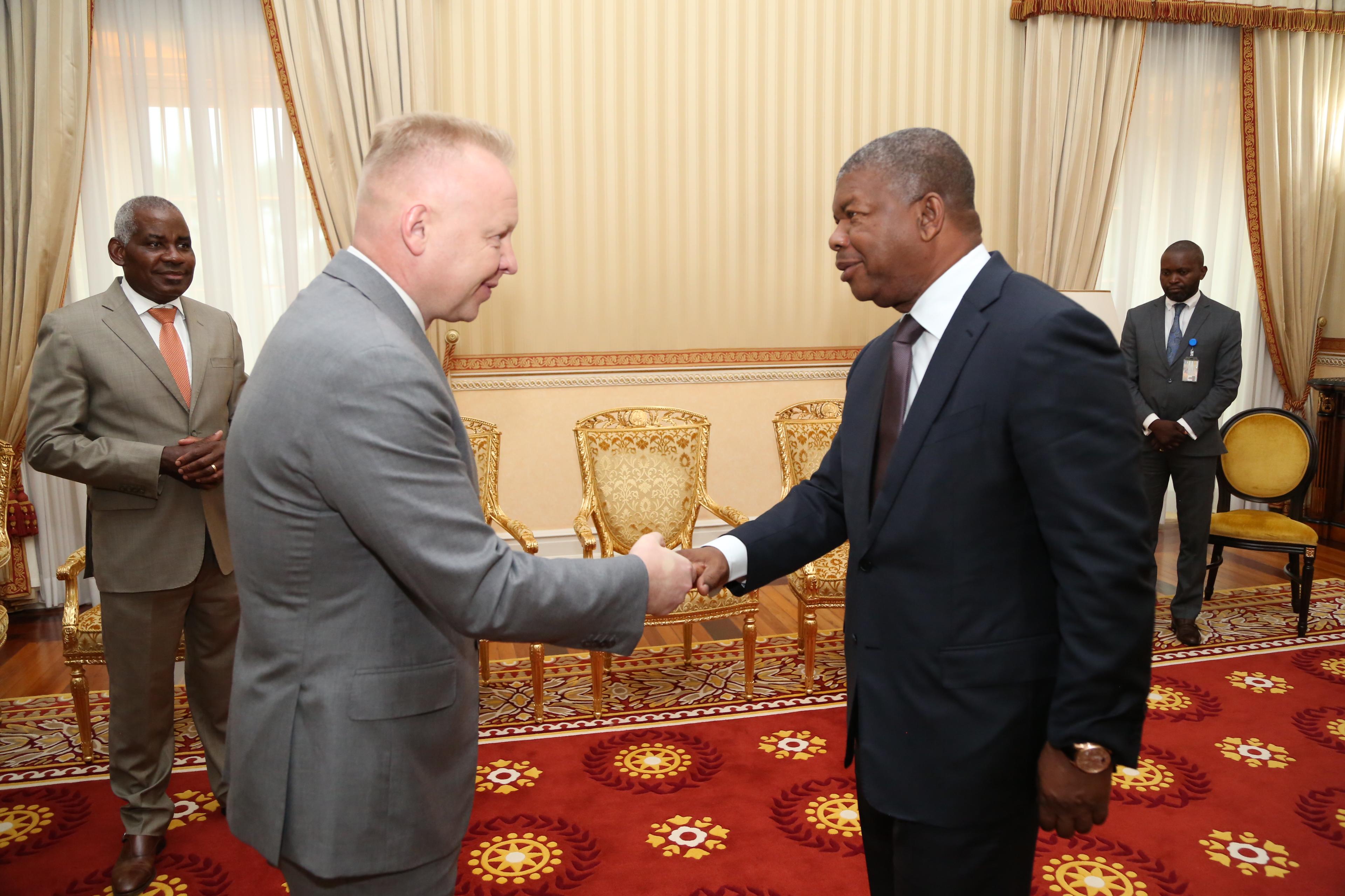 Дмитрий Мазепин встретился с Президентом Анголы